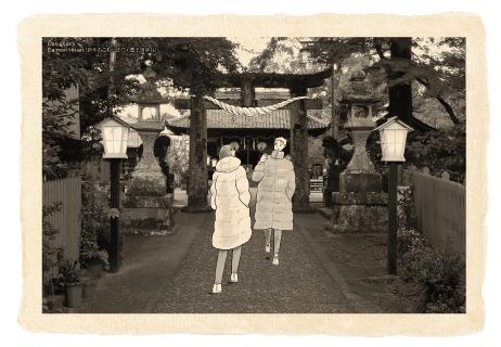 新年のごあいさつ・豊玉姫神社/プレミアム(5枚入)